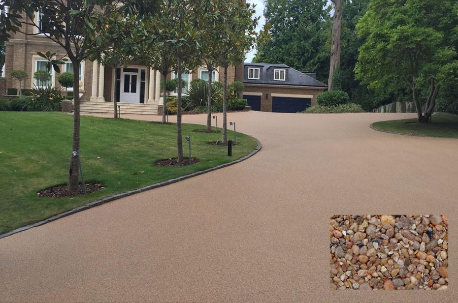 Chesil driveway for Weybridge home