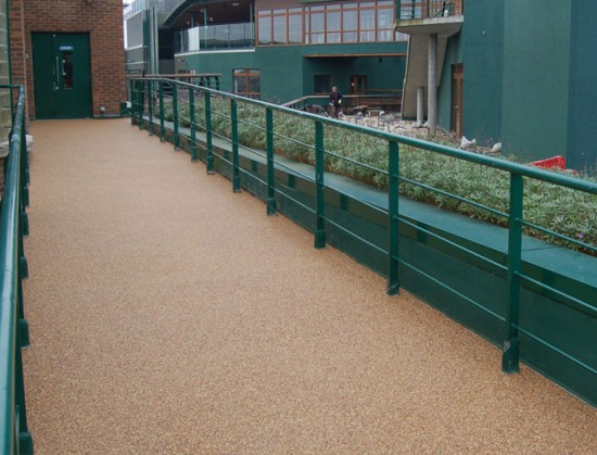 Wimbledon resin pavement