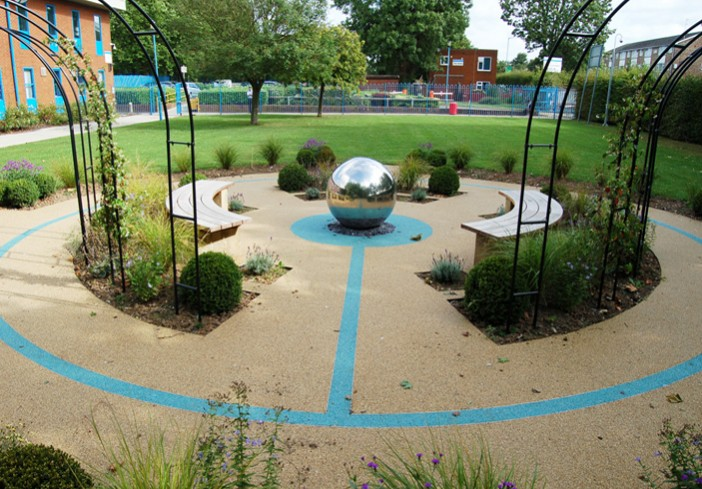 Circle-of-Life Memorial-Garden-for-Cranford-Community-College-in-Hounslow