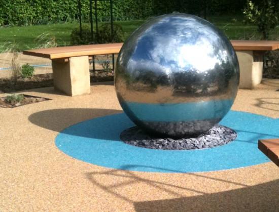 Circle-of-Life Memorial-Garden-for-Cranford-Community-College-centre-piece