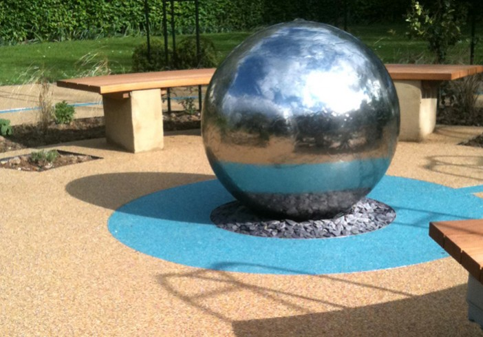 Circle-of-Life Memorial-Garden-for-Cranford-Community-College-centre-piece