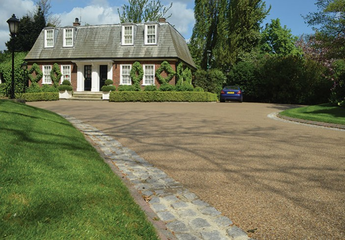Regents Park resin bound paving