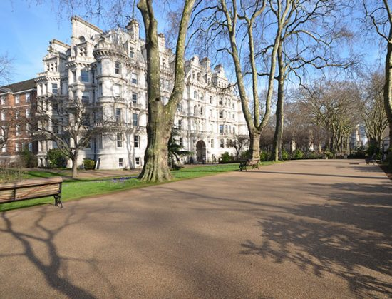 Resin bound paths for Middle Temple London Clearstone
