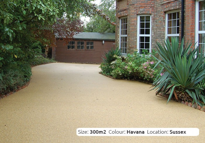Resin Bound Driveway in Havana colour, Ansty, Sussex