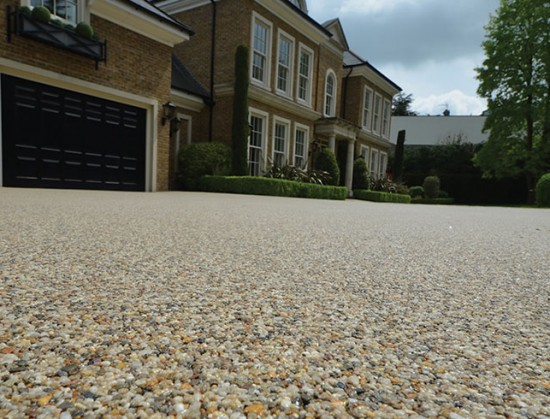 Clearstone Resin bound drive for Mr Fearn Epsom