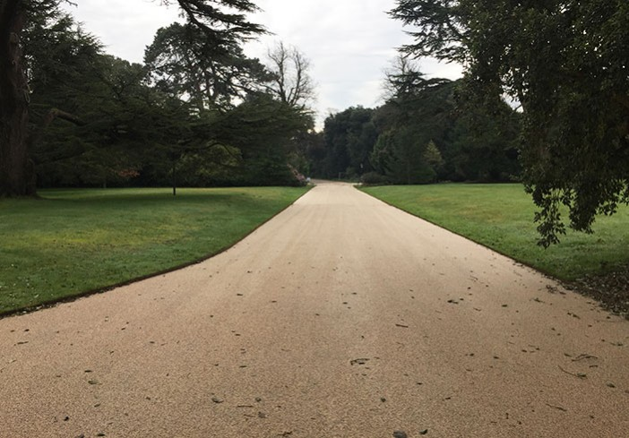 Clearstone resin bound for English Heritage Osborne House, Isle-of-Wight