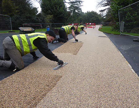 Clearstone-resin-bound-permeable-team