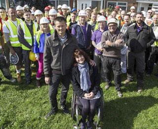 DIY SOS team transform house into wheelchair accessible space