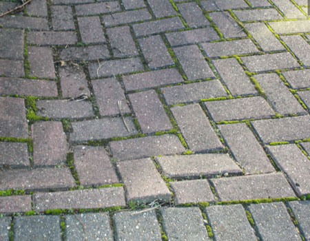 Sunken block paving and slabs will need to be taken up