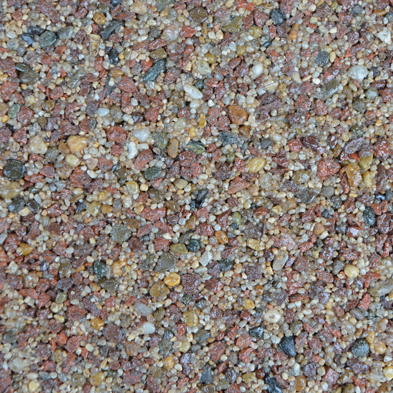 Clearstone Resin Drive Standard Colour Range: SPICE BARLEY