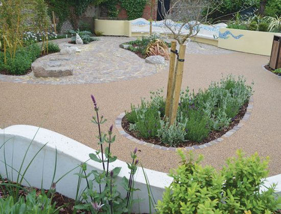Wenceling community Sensory Garden, Lancing, West Sussex