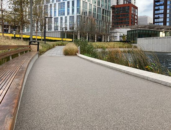 Resin Pathways Nine Elms London