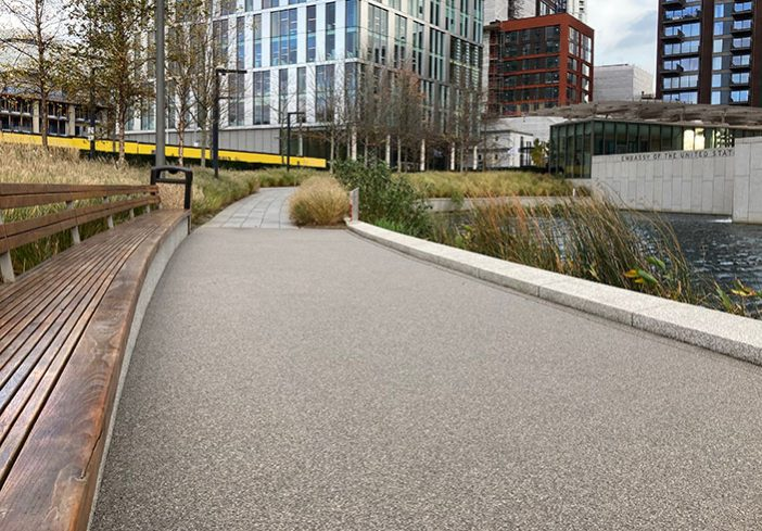 Resin Pathways Nine Elms London