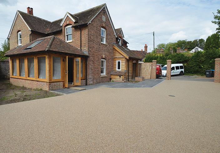 Resin bound driveway, Cuckfield, West Sussex
