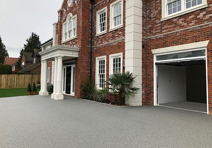 resin bound gravel driveway