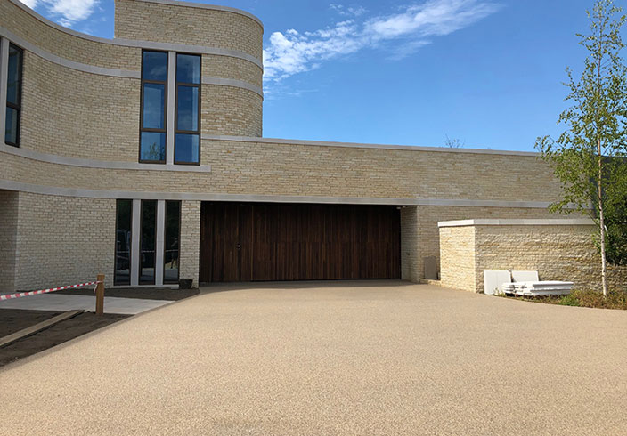 Resin bound gravel driveway, Chipping Norton, Oxfordshire