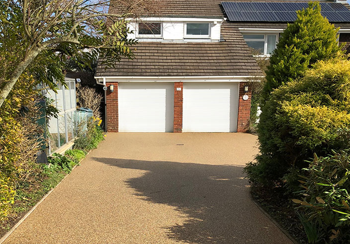 Resin bound gravel driveway, Petersfield, Hampshire
